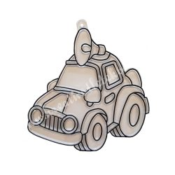 Festhető forma matricafestékhez, autó