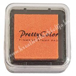 Bélyegzőpárna, tintapárna, neon narancssárga (43)