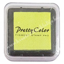 Bélyegzőpárna, tintapárna, neon sárga (45)