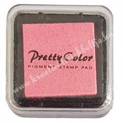 Bélyegzőpárna, tintapárna, rózsaszín (05)