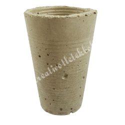 Beton pohárka, 6x9,5 cm