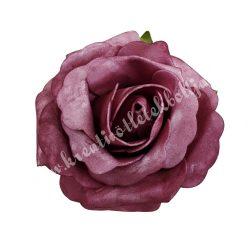 Betűzős rózsa, polifoam, lila, 8,5 cm