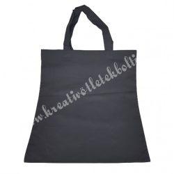 Bevásárló szatyor, fekete, 38x42 cm