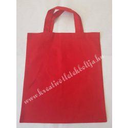Bevásárló szatyor, piros, 38 x 42 cm