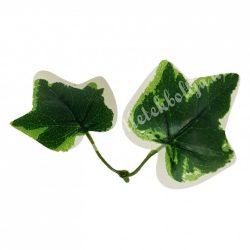 Borostyánág, zöld-fehér, 10 cm