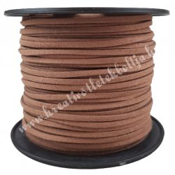 Szintetikus bőrszál, 3mmx1m, natúr