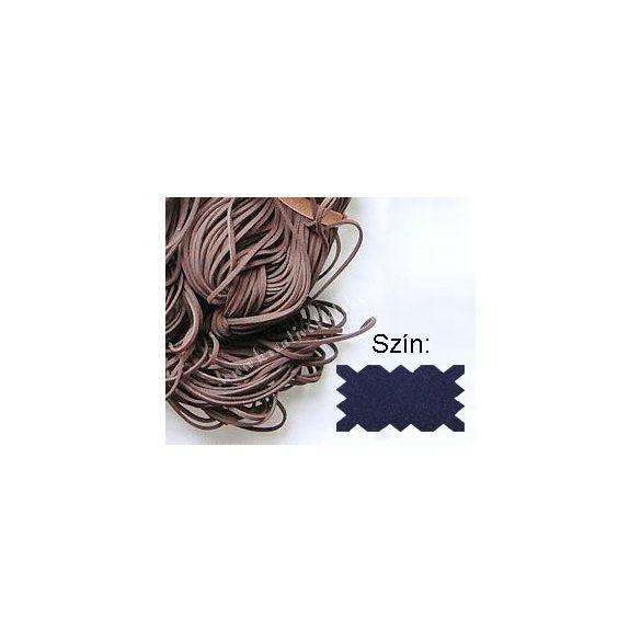 Szintetikus bőrszál, 2mmx75cm, kék