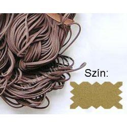 Szintetikus bőrszál, 2mmx75cm, natúr