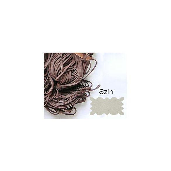 Szintetikus bőrszál, 2mmx75cm, nyers