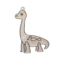 Festhető forma matricafestékhez, brachiosaurus