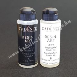 Cadence művész gyanta A, B komponens, (120-120 ml)