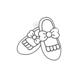 Festhető forma matricafestékhez, cipők