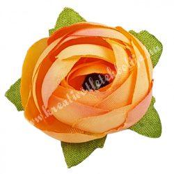 Dekor virágfej, sötétbarack, 3 cm