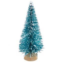 Fenyőfa, havas zöld, 8 cm