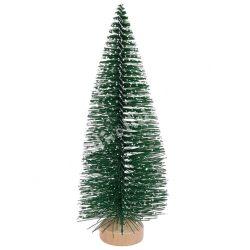 Fenyőfa, zöld, 4 cm