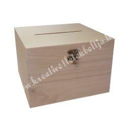 Fadoboz, lakodalmi pénzgyűjtő doboz