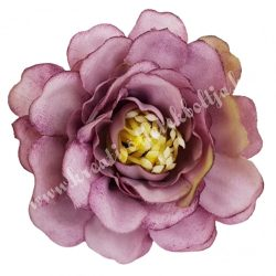 Fodros virágfej, mályva, 4 cm