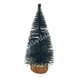 Fekete csillámos fenyő, 16 cm