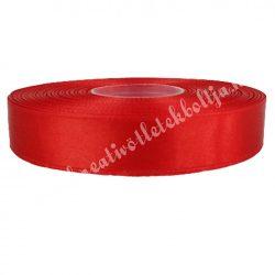 Szatén szalag, piros (3), több méretben
