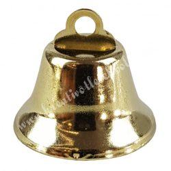 Arany színű csengő, 3,3x3,7 cm