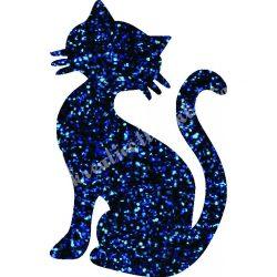 Csillámtetoválás festősablon, cica