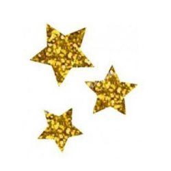 Csillámtetoválás festősablon, csillagok