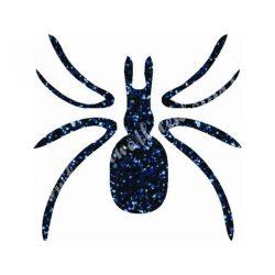 Csillámtetoválás festősablon, pók
