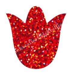 Csillámtetoválás festősablon, tulipán