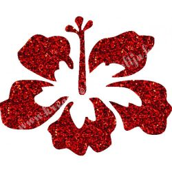 Csillámtetoválás festősablon, virág