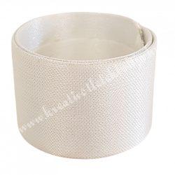 Csuklódísz alap, fehér, 23x2,5 cm