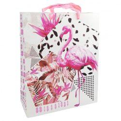 Dísztasak, Flamingó, 26x32 cm