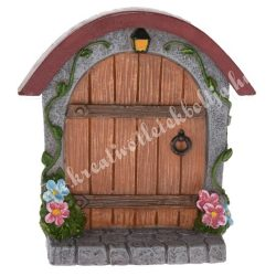 Tündérkert ajtó, íves, 8,5x9 cm