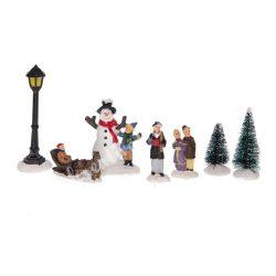 Karácsonyi szett 1., 9x8x10 cm