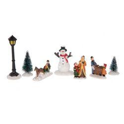 Karácsonyi szett 2., 9x8x10 cm