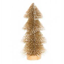 Havas fenyőfa, pezsgő, 15 cm