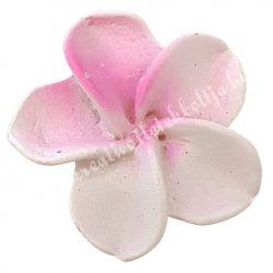 Ragasztható virág, rózsaszín, 3 cm