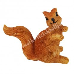 Polyresin mókus, 5x4,5 cm