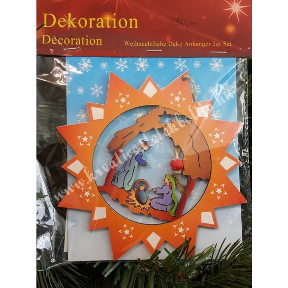 Szent család karácsonyi dekoráció