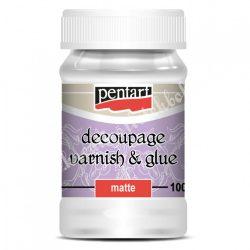 Decoupage - dekupázs ragasztó, matt, 100 ml