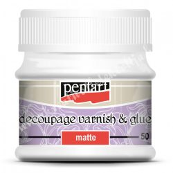 Decoupage - dekupázs ragasztó, matt, 50 ml