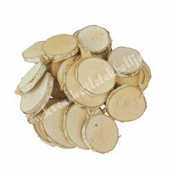 Dekoráció, natúr faszeletek csomag