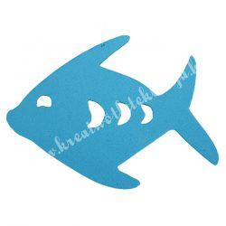 Dekorgumi hal, kék, 6,5x5 cm