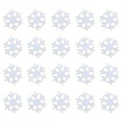 Dekorgumi hópihe mini, csillámos, 20 db/csomag