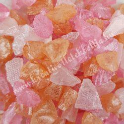 Dekorkavics, rózsaszín-narancssárga-fehér, 125 gr/csomag