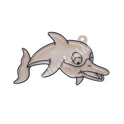 Festhető forma matricafestékhez, delfin