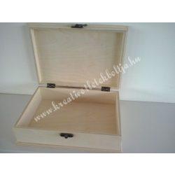 Dupla bejglis doboz, 24x17x7,5 cm, 1 darab