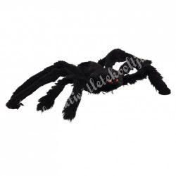 Zsenília pók, fekete, 26x3 cm