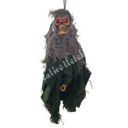 Rém, zöld ruhában, 10x22 cm