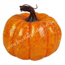 Hungarocell dísztök, narancs-arany, 9x9 cm