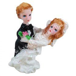 Esküvői pár, 3,5x5 cm